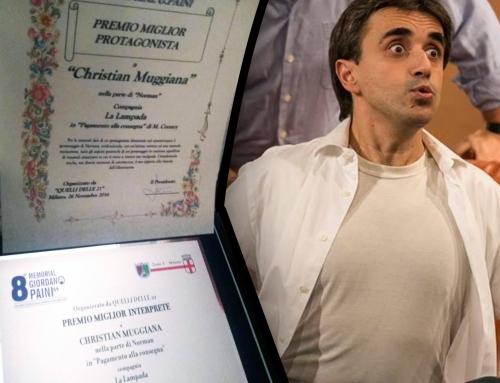 """Compagnia la Lampada vince MIGLIOR ATTORE al concorso """"Memorial Giordano Paini"""""""